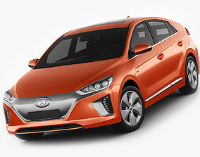 3D model Hyundai Ioniq Electric 2017