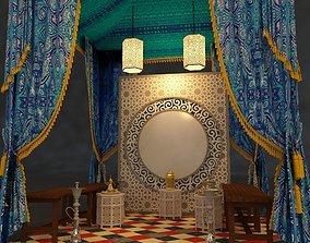 Ramadan tent 3D model