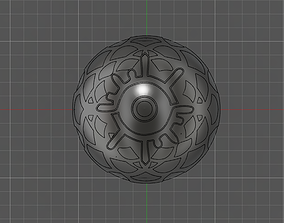 Fire Emblem Three Houses Crest of Gonriel 3D print model