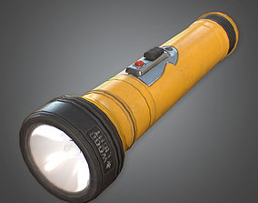 3D asset CAM - Flashlight - PBR Game Ready