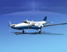 Beechcraft King Air C100 V06 3D