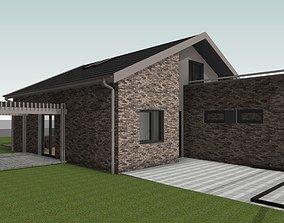 Single Family House bim 3D model