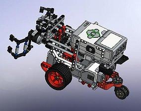 Complete structure assembling 3D print model