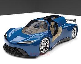 concept catiav5 Sport car 3D model