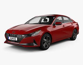 Hyundai Elantra US-spec 2020 3D