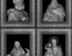 Saints collection- 3d model