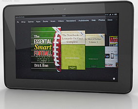 Amazon Kindle Fire HD 8 9 inches 3D asset