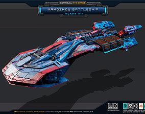 NEXTGEN - Yangzhou BattleShip - Class XII 3D asset