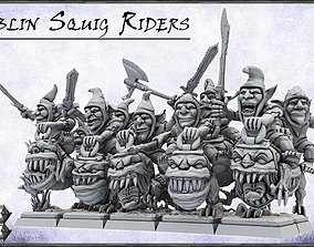 Goblin Squig Riders -UNIT- 28mm 3D printable model