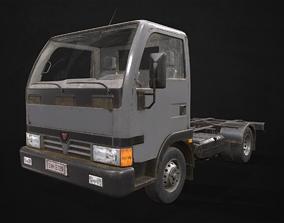 3D asset Light Truck Chassis