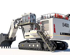 construction Liebherr R9400 Excavator -3D Model