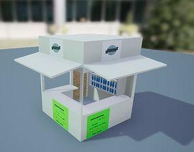 3D asset Snacks Shop