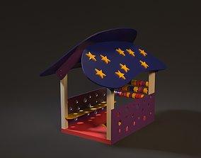 3D children playhouse