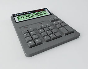 calculator 3D asset low-poly