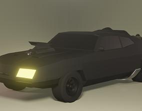 3D asset Mad Max Interceptor Car