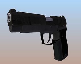 LH9 Pistol 3D asset