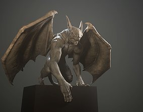 3D model PBR Gargoyle