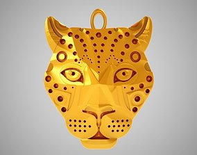 Leopard Necklace 3D print model