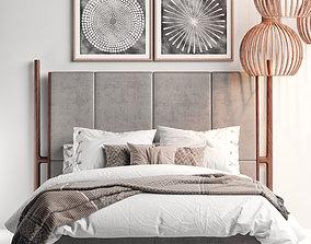 3D model Flexform MOOD Icaro Bed