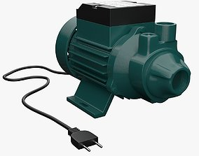 Electric Water Pump 1 3D model