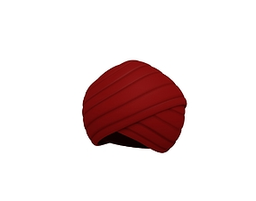 Turban 3D asset