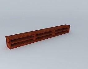 3D TV Bench