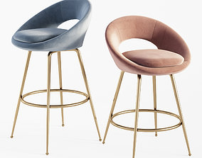 3D Orb Bar Stool Counter Stools West Elm