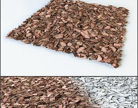 3D Mulch of pine bark