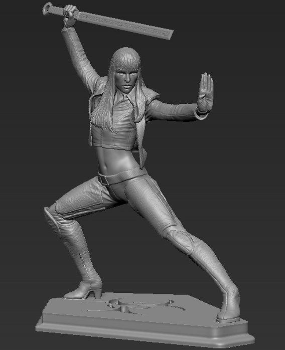 Ultraviolet commission statue