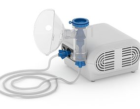 3D model Nebulizer