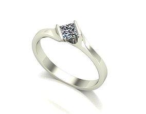 diamond 3D print model bhdr ring