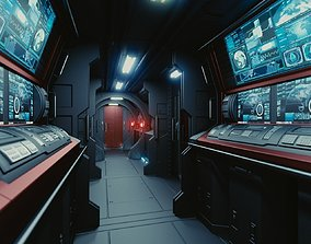 3D model Spaceship Interior C HD