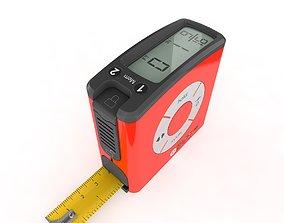 Digital Tape Measure Original Rigged 3D