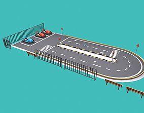 driving school 3D asset