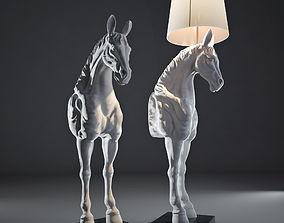 White horse Lamp 3D