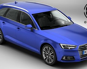 Audi A4 Avant 2016 3D model