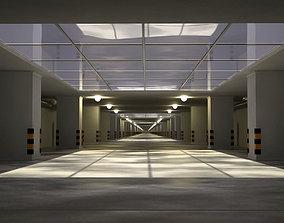 Underground tunnel 3D model