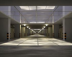 Underground tunnel 3D asset