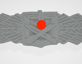 3D print model WW2 German Close Combat Clasp Medal Badge
