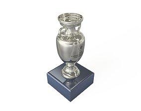 EURO 2020 European Football Championship Cup 3D asset