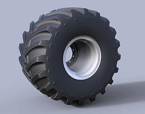 3D model part Monster truck wheel