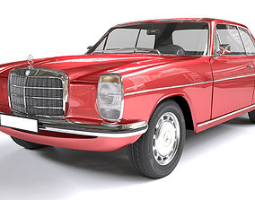 Mercedes Coupe W114 240D 3D