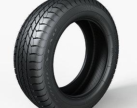 3D Tire GoodYear Efficient Grip 205x55xR16