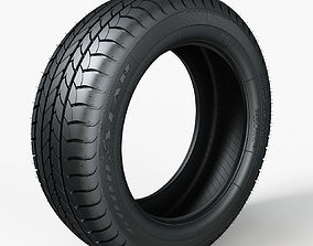 3D Tire GoodYear Efficient Grip 205x55xR16