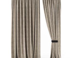 Curtains Rich 3D model