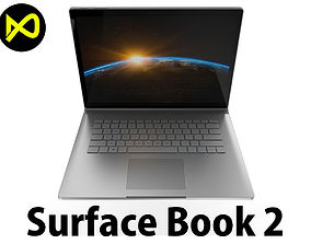 Microsoft Surface Book 2 3D