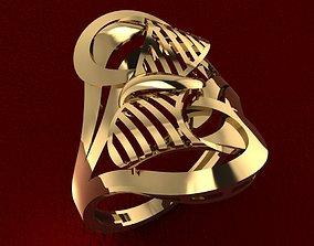 3D print model RING 76 silver