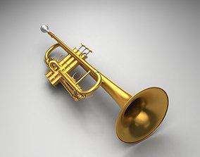 3D trumpet Trumpet