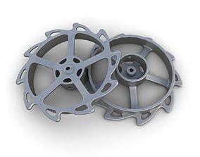 3D model Steampunk Gear 13