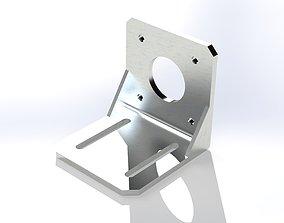 Stepper motor holder NEMA 17 3D